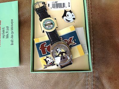 Fossil Felix The Cat Limited Edition Collector's Watch W/ Pin Li-1007