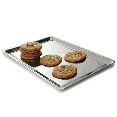 Stainless Steel Jelly Roll Tray Baking Pan Cookie Sheet Dudy Oven Bakeware 40*30