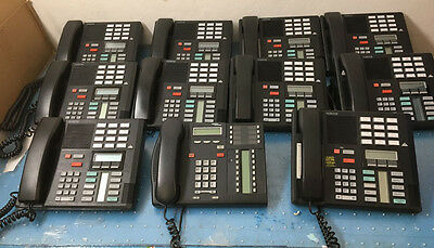 Nortel Norstar Office Phone System Meridian w 13 M7310 & 1-network T7316