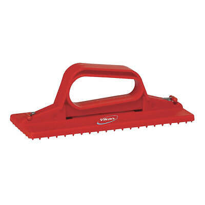 "VIKAN Scrub Pad Holder,Red,9""L, 55104, Red"