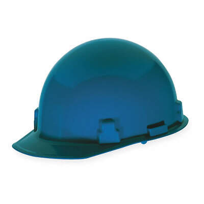 MSA Hard Hat,C, G,Blue,4 pt. Ratchet, 486963, Blue