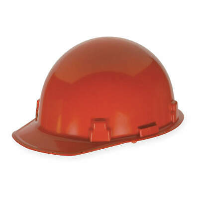 MSA Hard Hat,C, G,Red,4 pt. Ratchet, 486961, Red