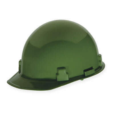 MSA Hard Hat,4 pt. Ratchet,Grn, 814343, Green