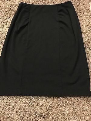 MAMA h&m maternity, black pencil skirt, over the bump, size small