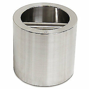 RICE LAKE Stainless Steel Calibration Weight (w/cert), 20 lb, 12674TR