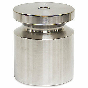 RICE LAKE Stainless Steel Calibration Weight, 10 lb, 12606