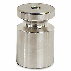 RICE LAKE Stainless Steel Calibration Weight, 1 lb, 12596
