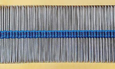 MR25 0.25W 1.2K Ohm (1K2) Metal Film Resistor (25 Pieces)