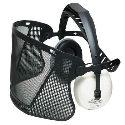 ELVEX Faceshield Assembly,Black ,Nylon Mesh, HB7000