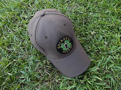 "Guinness ""Luck of The Irish"" Logo Beer Cap Hat Brown One Size"
