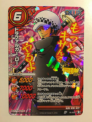 One Piece Miracle Battle Carddass Promo P AS-020