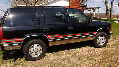 1995 Chevrolet Tahoe  1995 Collector Chevy Tahoe