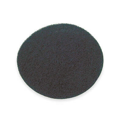 ABILITY ONE Stripping Pad,18 In,Black,PK10, 7910-00-685-4245, Black