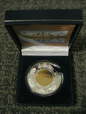 2001 Cambodia Angkor Wat Silver Proof Hologram Coin-The Wonders of the World-COA