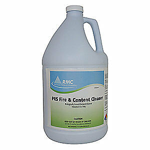 PROFESSIONAL RESTORATI Fire and Content Cleaner,1 gal.,PK4, 11905327, Light Blue
