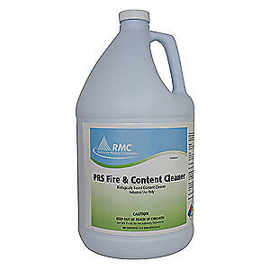 PROFESSIONAL RESTORATI Fire and Content Cleaner,1 gal.,PK4, 12001827, Light Blue