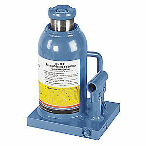 OTC Bottle Jack,Hydraulic,18-1/16 in. Max., 5221