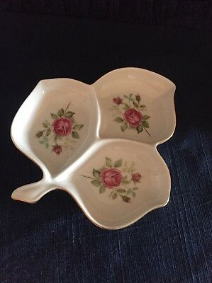 Mitterteich Bavaria- China Divided Candy/ Nut Dish