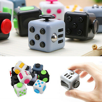 Upgraded Magic Fidget Cube Anti-anxiety Adults Stress Relief Kids Toys Gift Cool
