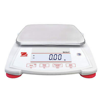 OHAUS Portable Scale,1200g,0.01g,Backlit LCD, SPX1202
