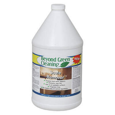 BEYOND GREEN CLEANING Calcium and Lime Remover,Clear,PK4, 9102-004, Clear
