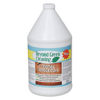 BEYOND GREEN CLEANING Tile and Grout Cleaner,1 gal.,PK4, 9901-004, Clear