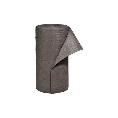 NEW PIG Polypropylene Absorbent Roll,Universal,Gray,150 ft.L, MAT230, Gray