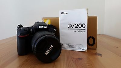 Nikon D7200 DSLR Camera and AF-S DX 18-105mm Lens