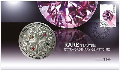 2017 Rare Beauties | Extraordinary Gemstones - Medallion Cover Limited of 3,500