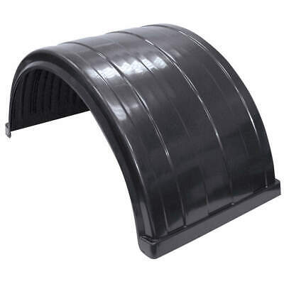 BUYERS PRODUCTS Poly Rear Fender,Rust Resistant,50 1/2 In., 8590245, Black