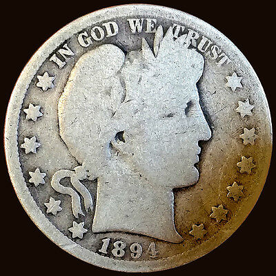 1894-O Silver Barber Half Dollar Minted in New Orleans