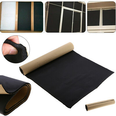 Rubber Sound Proofing & Heat Insulation Sheet Closed Cell Foam 100 x50 x 1/0.5cm