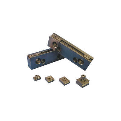 MITEE-BITE PRODUCTS INC Steel Jaw Set,Vise Jaws,8in,PK2, 32068