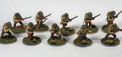 PAINTED Bolt Action  US INFANTRY SQUAD 28mm WWII FREE SHIPPING