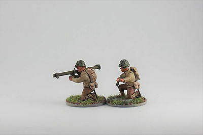 PAINTED Bolt Action  BAZOOKA TEAM 28mm WWII FREE SHIPPING