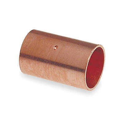 """NIBCO Coupling,Dimple Stop,Wrot Copper,1-1/4"""", 600DS 11/4"""
