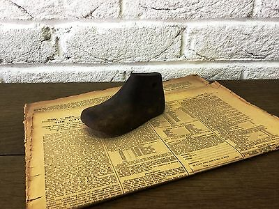 Infant/Child/Small Vintage Wooden Foot/Cobblers/Boot Makers Shoe Last - Prop