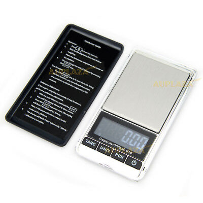 New 500g 0.01g Digital Precision Weight Electronic Pocket Lab Mini Jewelry Scale