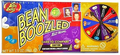 USA JELLY BELLY BEAN BOOZLED 4th EDITION SPINNER WHEEL 99g