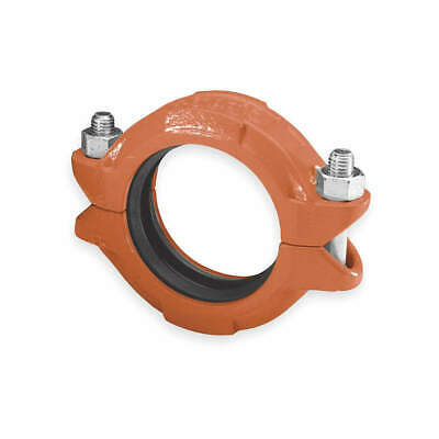 "GRUVLOK Standard Coupling,8"",Iron,800 psi, 0390003143, Orange"