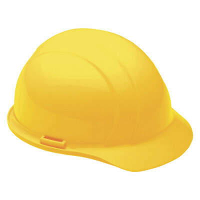 ABILITY ONE Hard Hat,4 pt. Pinlock,Ylw, 8415-00-935-3140, Yellow