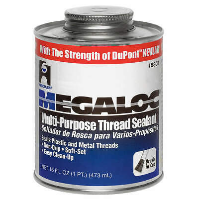 HERCULES Thread Sealant,16 fl. oz.,White, 15808, White