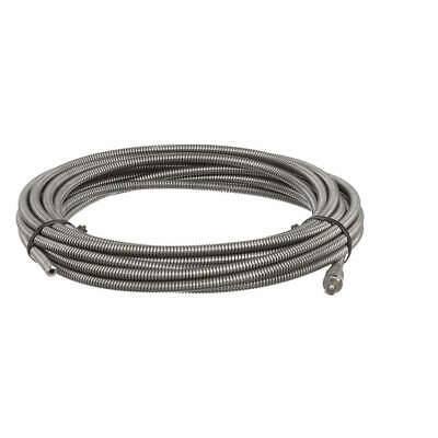 RIDGID Steel Drain Cleaning Cable,3/8 In. x 35  ft., 62260