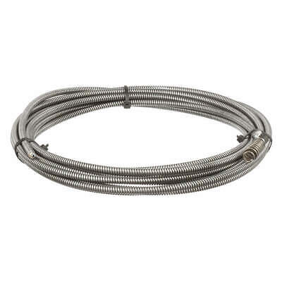RIDGID Steel Drain Cleaning Cable,5/16 In. x 25  ft., 62235