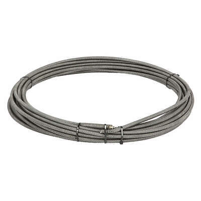 """RIDGID Steel Drain Cleaning Cable,3/8""""  x 100  ft., 37852"""