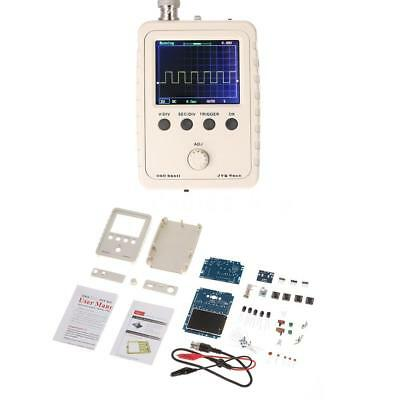 "2.4"" TFT Handheld Pocket-size Digital Oscilloscope DIY Kit Parts 1MSa/s 0-200KHz"