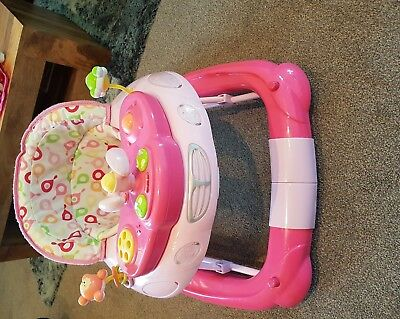 My Child Musical Baby Walker And Rocker In Pink