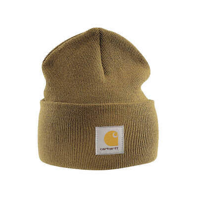 CARHARTT Acrylic Knit Cap,Universal,Brown, A18-BRN OFA, Brown