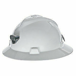 MSA Hard Hat,C,White,Staz-on,4 pt. Pinlock, 460069, White