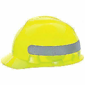 Hard Hat,4pt.Rtcht,Hi-Vis Ylw/Grn, 10102194, Hi-Visibility Yellow/Green with Sil